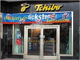 Textilbanner - Tchibo